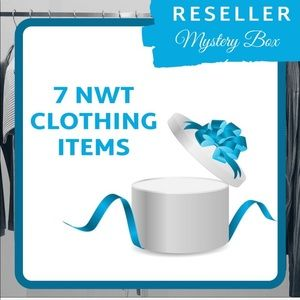 🌟 7 NWT ITEMS RESELLER MYSTERY BOX 🌟